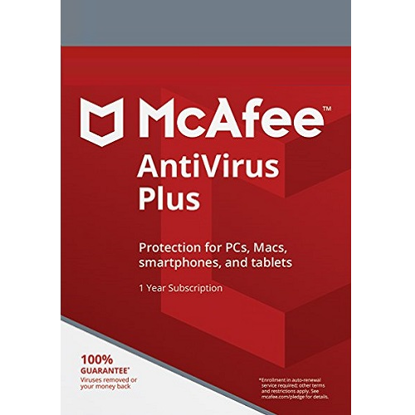 Picture of McAfee AntiVirus Plus - 1-Year / 3-Device - Global