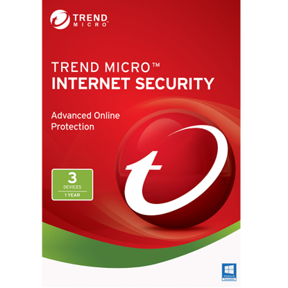 Picture of Trend Micro Internet Security (2020) - 1-Year / 3-PC