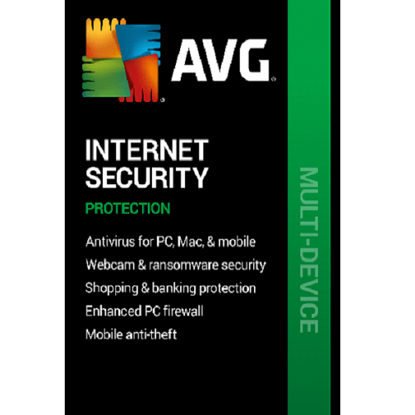 Picture of AVG Internet Security - 2-Year / 10-Devices
