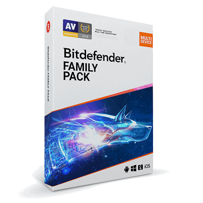 Picture of Bitdefender Family Pack - 1-Year / 15-Devices - Global