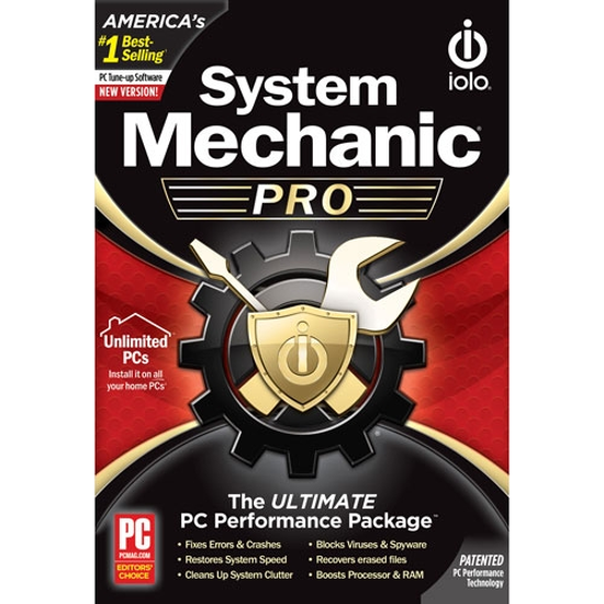 Picture of iolo System Mechanic Pro - 1-Year / Unlimited Devices