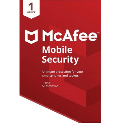 Picture of McAfee Mobile Security - 1-Year / 1-Device - Global