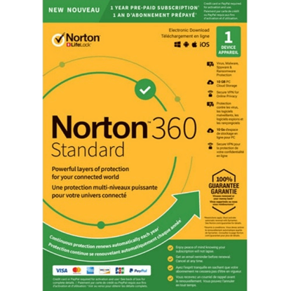 Picture of Norton 360 Standard - 1-Year / 1-Device - United States & Canada