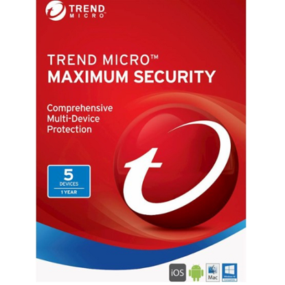 Picture of Trend Micro Maximum Security (2020) - 1-Year / 5-Device