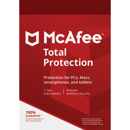 Picture of McAfee Total Protection - 1-Year / 10-Devices - Americas